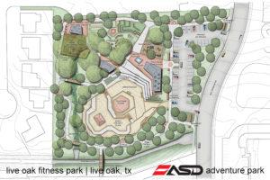 ASD-Live Oak, TX Fitness Park