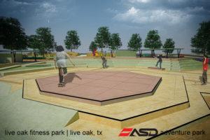 ASD-Live Oak, TX Fitness Park2