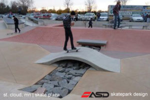 ASD-St Cloud, MN Skate Plaza 5a
