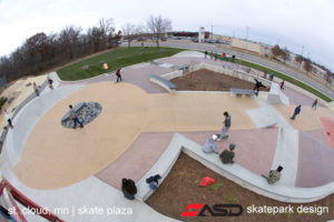 ASD-St Cloud, MN Skate Plaza 7a
