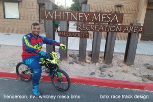 WHITNEY MESA BMX 7-ASD