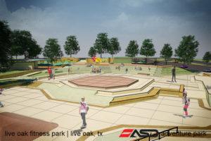 ASD-Live Oak, TX Fitness Park1
