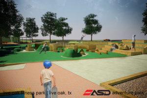 ASD-Live Oak, TX Fitness Park4