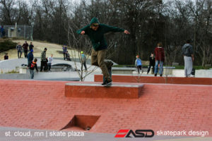 ASD-St Cloud, MN Skate Plaza 1a