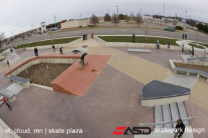 ASD-St Cloud, MN Skate Plaza 2a