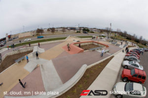 ASD-St Cloud, MN Skate Plaza 3a